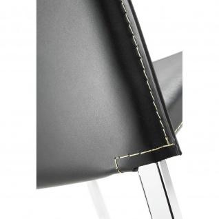 Mayer 1127 Tresenhocker myAlto chrom Lederfaserstoff schwarz - Vorschau 3