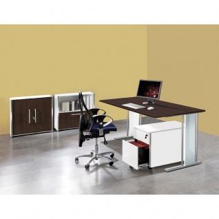 Büro Schreibtisch Lugano 180 x 90 x 75 cm C-Fuß-Gestell