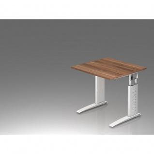Büro Schreibtisch 80x80 cm Modell US08 mechanische Höheneinstellung