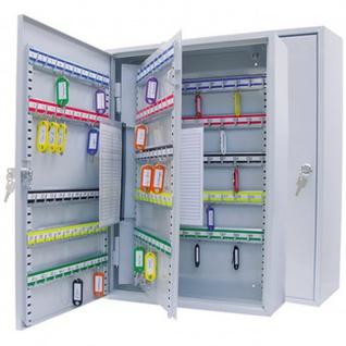 Schlüsselschrank für 150 Schlüssel lichtgrau