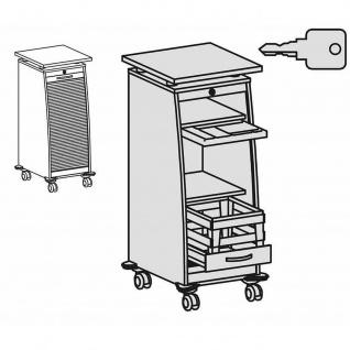 Gera Büro Rollwagen Caddy mit Hängeregistraturauszug - Vorschau 5