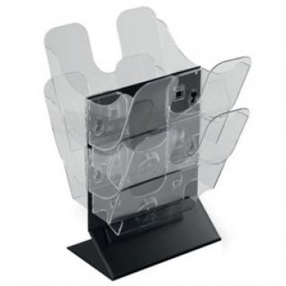 Tisch Prospekthalter FLEXIPLUS STAND, A5 transparent