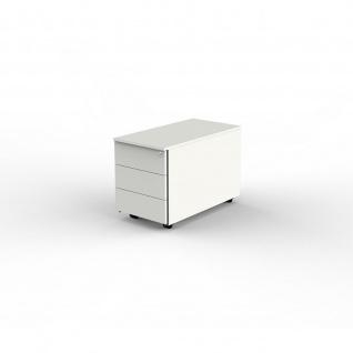 Büro Rollcontainer Lugano Start up 43 x 80 x 54 cm 3 Stahlschubladen
