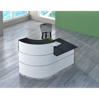 Kerkmann Design-Theke Kompakt-Theke Theke CENTO 2 3851 (B)1800x(T)905x(H)1100cm