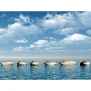 Leinwand Wandbild Malik 60x80 Motiv Sea Stones