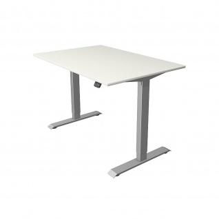 Kerkmann Schreibtisch Sitz-Stehtisch MOVE 1 silber 120x80x74-123cm elektr. höhenverstellbar - Vorschau 3