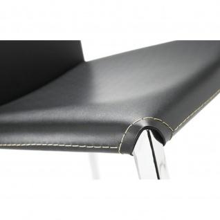 Mayer 1127 Tresenhocker myAlto chrom Lederfaserstoff schwarz - Vorschau 2