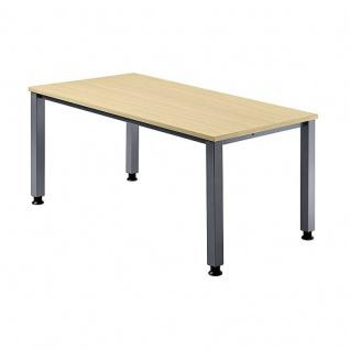 Büro Schreibtisch 160x80 cm Modell QS16