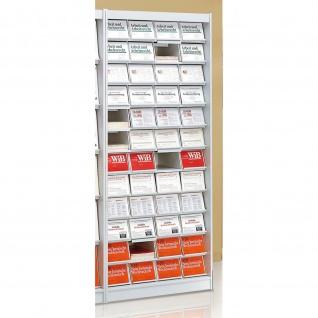 Kerkmann Büroschrank Zeitschriftenschrank Media mit 48 Fächern B 220 x H 155 mm