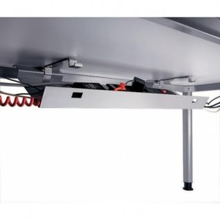 Kabelkanal abklappbar, passend für Büro Schreibtisch Modell HS