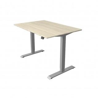 Kerkmann Schreibtisch Sitz-Stehtisch MOVE 1 silber 120x80x74-123cm elektr. höhenverstellbar - Vorschau 5