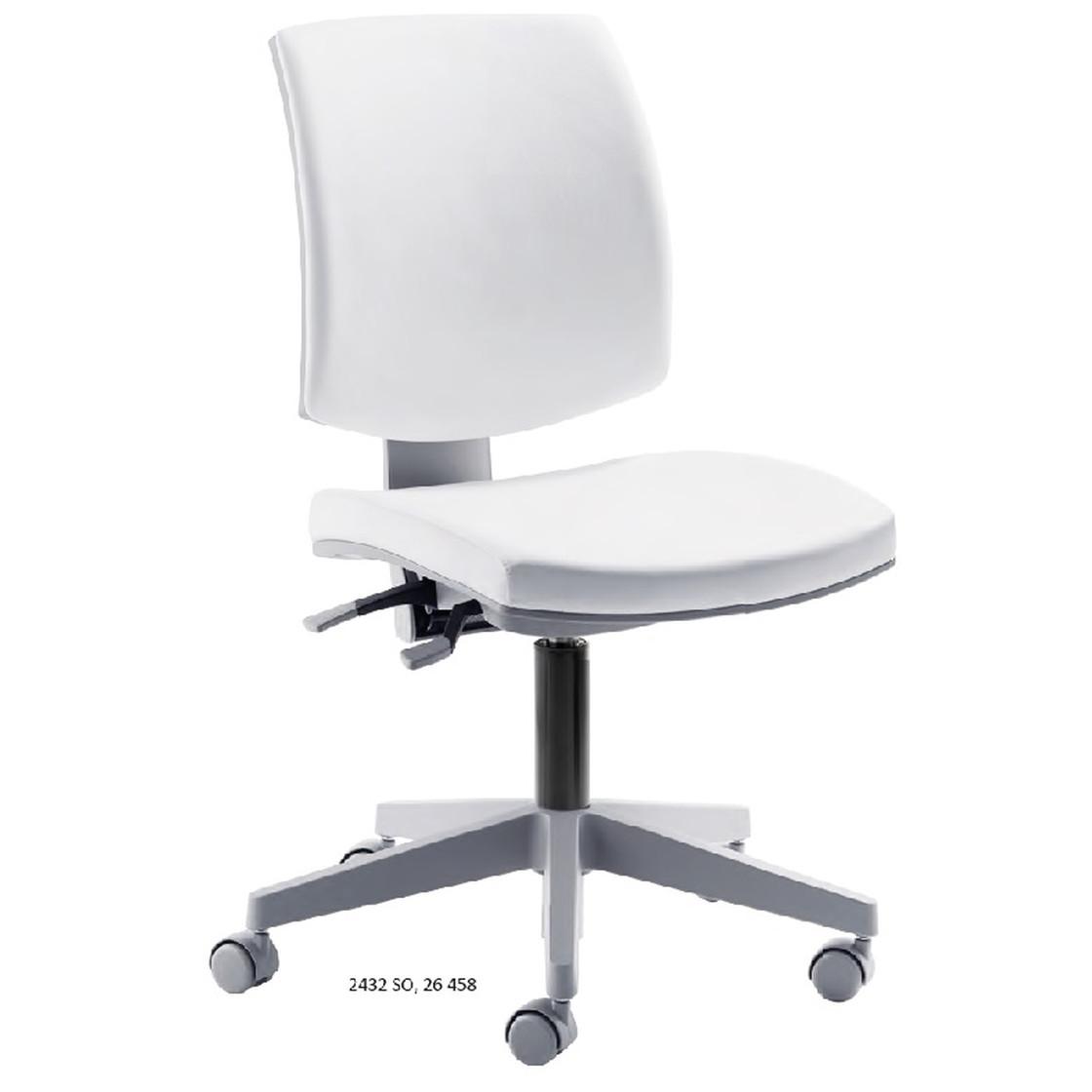 Arbeitsdrehstuhl »my Quizz« Sitzhöhe 44-54 cm weiß, mayer Sitzmöbel