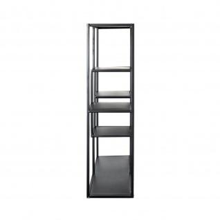 Wandregal Regal schwarz lackiert-Stahlrohr