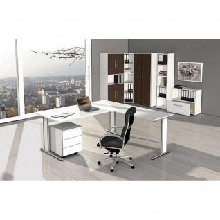 Büro Schreibtisch AVETO 180 x 80 x 75 cm C-Gestell