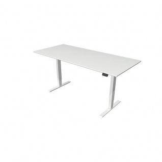 Kerkmann Stehtisch Schreibtisch MOVE 2 180x80x72-120 cm C-Fuß-Gestell alusilber verschiedene Dekore