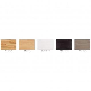 Moderner Massivholz Couchtisch CT50S mit Ablageboden und Schubladen - Vorschau 2