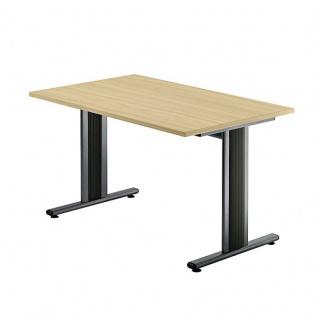 Büro Schreibtisch 120x80 cm Modell TS12