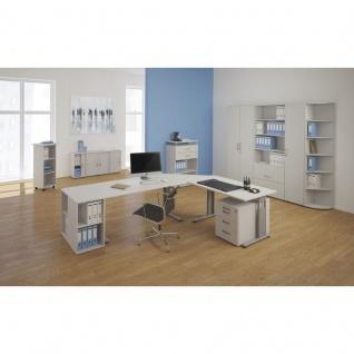 PC-Schreibtisch Bürotisch C Fuß Pro, links, 180 x 120 cm, Gera - Vorschau 2