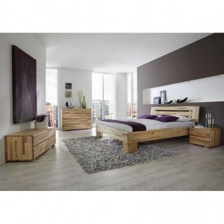 Modernes Einzelbett Doppelbett Massivholz Avantgarde Kernbuche geölt -Schnelllieferprogramm-