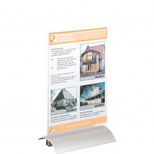 Tischaufsteller PRESENTER, DIN A4, transparent