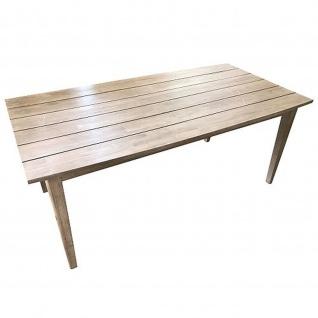 Gartentisch Retro-Look Akazienholz