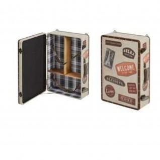 Wandregal Case 2, MDF PU bezogen, Ablagen Furnier Maße: 40x19x60(H)cm