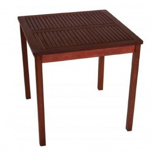 Gartentisch Holztisch Tisch aus Eukalyptusholz