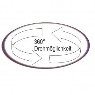 Mayer 1233 Design Lift Barhocker My Icona Edelstahl Leder Optik weiss - Vorschau 3
