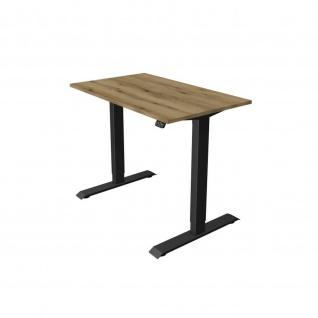 Kerkmann Schreibtisch Sitz- /Stehtisch Move 1 anthrazit 100x60x74-123 cm in verschiedenen Farben - Vorschau 2