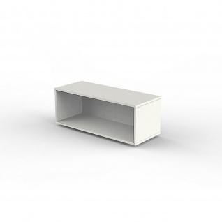 Kerkmann Aufsatzregal 4494 Form 4 weiß 100 x 40 x 36 cm