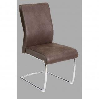 Stuhl Esszimmerstuhl JUMBO dunkelbraun Maße 49 x 59 x 98 cm
