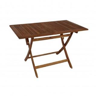 Klapptisch Gartentisch Holztisch klappbar aus Akazienholz