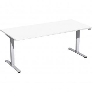 Elektro Smart Schreibtisch elektrisch höhenverstellbar 1800x800x700-1200 cm diverse Dekore - Vorschau 5