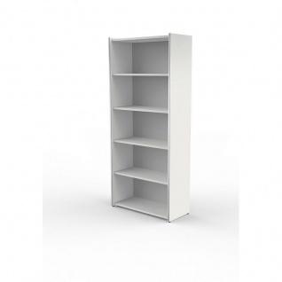 Büroschrank Regal breit Form 4, 5 OH 80x38x183 cm