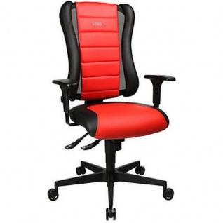 Topstar Bürodrehstuhl Sitness Racer RS schwarz / rot