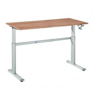 Büro Schreibtisch Stehtisch höhenverstellbar 160x80 cm Modell XK16
