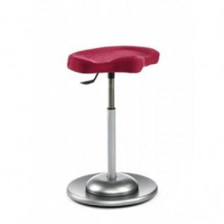 Mayer 1108 Pendelhocker mit ergonomisch geformtem Sitz Stoffausführung - Vorschau 2