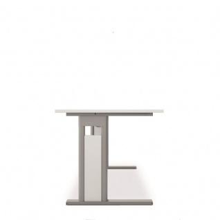 PC-Schreibtisch Bürotisch C Fuß Pro, links, 200 x 120 cm, Gera - Vorschau 3