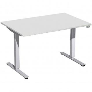 Elektro Smart Schreibtisch elektrisch höhenverstellbar 1200x800x700-1200 cm diverse Dekore - Vorschau 2