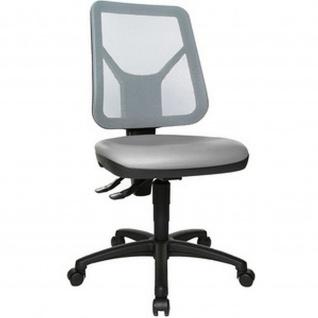 Topstar Arbeitsdrehstuhl TEC 80 PK Stoffbezug: grau