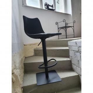 Mayer Design Lift Barhocker 1275 My Toby Kunstleder Vintage 547 Vintage schwarz 03 schwarz