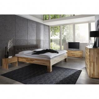 Modernes Einzelbett Doppelbett Massivholz Daisy Winter 383.41 Kernbuche/Buche