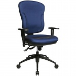 Topstar Bürodrehstuhl Wellpoint 30 SY blau