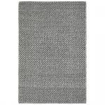 Teppich Wohnteppich Wollteppich My Logan, 100% Wolle, handgefertigt, silbergrau