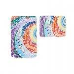 Badteppich Teppich My Fidler 4030, Thermoprint, waschbar, trocknergeeignet, mosaik