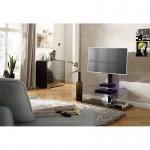 TV-Rack Schwarz oder Weißglas Maße :1000 x 1020 x 450 mm