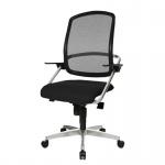 Bürodrehstuhl SMOVE 10 Stoffbezug: schwarz
