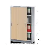 Kerkmann Büroschrank Schiebetürenschrank Tec-art 4 Ordnerhöhen 156x100x420 cm