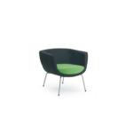 Design Lounge Sessel Mehrzwecksessel Koppa 4-Fußgestell