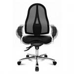 Bürodrehstuhl Fitness Drehstuhl Sitness 15 schwarz inkl. Armlehnen -Express 10 11-